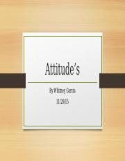 attitudesandbehavior