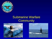 Lesson 13 Submarine Warfare
