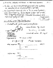 MATH 363 LTI Physical Systems Notes