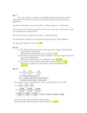 Valuation of Securities Problems