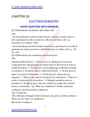 10-CHAPTER-ELECTROCHEMISTRY-SHORT-QUESTION-WITH-ANSWERS