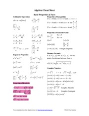 Algebra_Cheat_Sheet