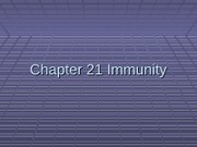 Chapter 21 The Immune System BB Version