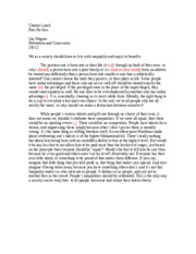 Peer Raview - Refutation Essay