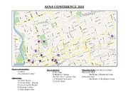 ASNA Convention Map and To-Do