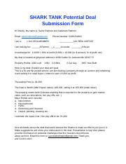 Shark Tank Submission Form.docx