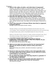 The Great Gatsby Chapter 2 Exam Questions and Answers.docx