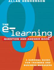 AMACOM.The.E-Learning.Question.And.Answer.Book.A.Survival.Guide.For.Trainers.And.Business.Managers