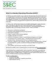 What is a Standard Operating Procedure(SOP).pdf