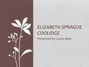 Elizabeth Sprague Coolidge