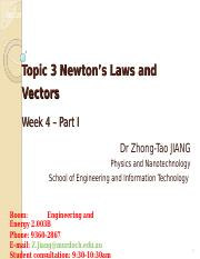 Topic 3 Lecture 3
