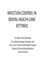 1. infection control First lecture.pdf