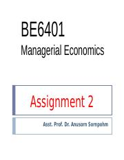 3 Assignment 2 (Fast track) BE 6401, Batch 24 (13), August 26, 2015
