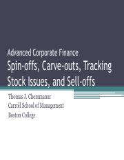 Restructuring Boston College Revised March 2014