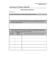 ethical dilemma worksheet prosecutors cja324 Cjs 211 week 3 ethical dilemma worksheet: prosecutors review the prosecutors scenario document complete the blank ethical dilemma worksheet submit your assignment.