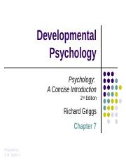 Griggs_Chapter_07_Developmental_Psychology_DP.ppt