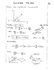 Lecture Notes on Polar Coordinates