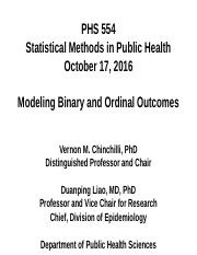 PHS 554 (2016_10_17 - Modeling Binary and Ordinal Outcomes)