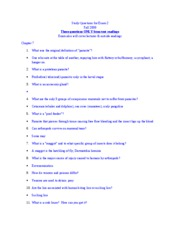 ENY Study Questions- 2