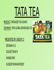 TATA TEA-GROUP 11 PPT.pptx