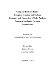 Portfolio Final: Building The Portfolio Framework
