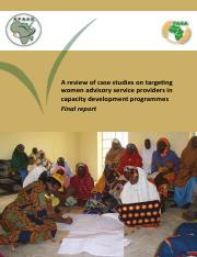AFAAS_Review_of_case_studies_women .pdf