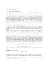 Topics in Applied Mathematics l Lecture 2 Notes