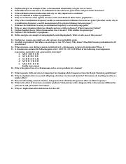 Worksheet Questions 02.13.2017