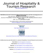 2008Multidimensional Customer-Based Brand Equity and Its Consequences in Midpriced Hotels