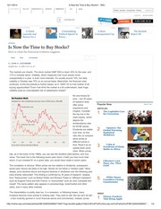 Is Now the Time to Buy Stocks_ - WSJ
