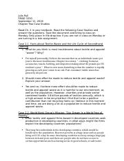 FMAD 3330 Chapter Two Case Studies  (1).docx