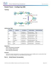 7.2.2.3 Packet Tracer - Configuring GRE Instructions