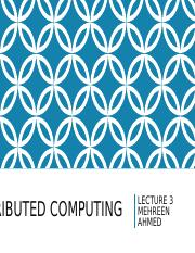 Distributed Computing-Lecture 3.ppt