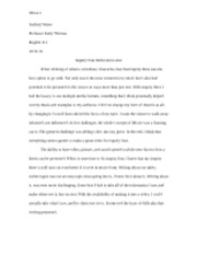 Inquiry 4 Reflection Letter for English 111