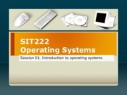 01. Introduction to Operating Systems