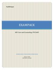 rsc2601 exampack 2011 2013 Rsc2601 together we pass exam pack 2018 our tutors are working hard to produce exam packs for all our subjects two weeks before the final exam we use the most recent past paper that we have.