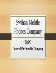 Swihan Mobile Phones Company BL Project.pptx