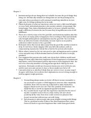 Chapter 1,2,3,4,17 discussion questions