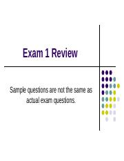 Spring 2016 A2331 exam 1 review questions (3)(2)(1)