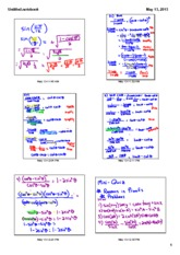 trig function notes