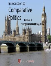 POL 103 - Lecture 3 - The United Kingdom and the Parliamentary System (1).pptx