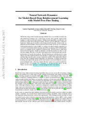 hw2_final pdf - CS294-112 Deep Reinforcement Learning HW2
