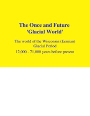PPT-29 Glacial World