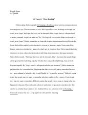 Short Essays In English  Pages Ap Essay  English Reflective Essay Example also Sample Essay With Thesis Statement Ap Essay   Brenda Shaya Ap English Essay Meaningful Topic  Essays In English