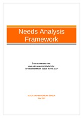 Needs Analysis Framework - English - for 2012 guidelines