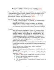 Lecture__notes_--_Political_and_Economic