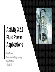 Activity 3.2.1 Fluid Power Application - Bria Brown