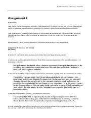 8-08 Graded Assignment-Business and Society