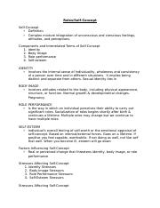 Self Concept-Roles Outline 16.docx