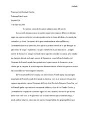final spanish paper